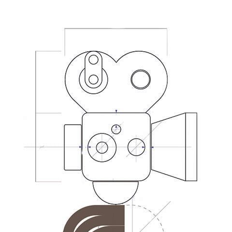 Super16 wooden toy camera design process