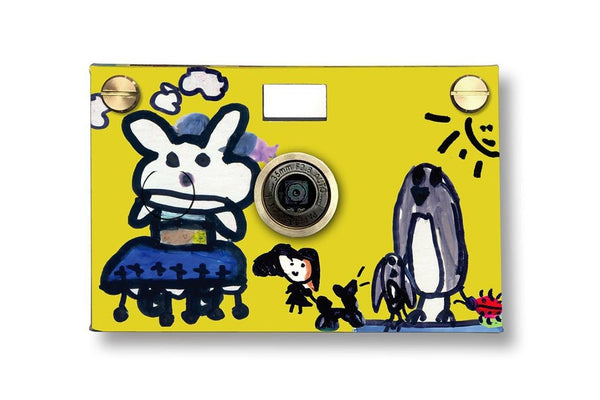 Father's Factory PaperCam paper digital camera is a fun and easy to use working digital camera with recycled paper case for any beginner photographers.