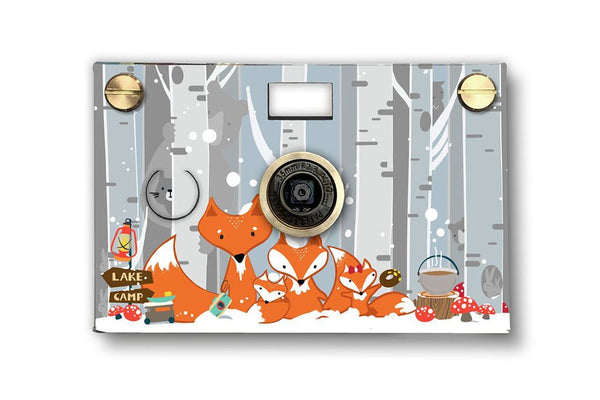 Father's Factory Snow Fox PaperCam paper digital camera is a fun and easy to use working digital camera with recycled paper case for any photographers who love to fox