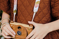 Single Lens Wooden Digital Camera Full HD + Handcrafted Strap ($167 Value)