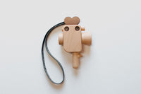 Limited Edition Super 8 Wooden Toy Camera Strap