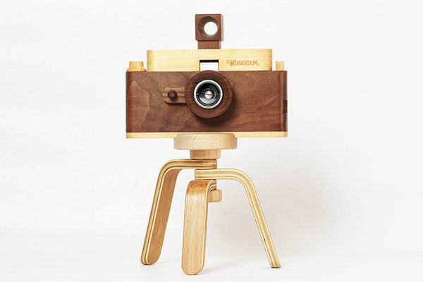 Classic One Wooden Digital Camera Full HD & Tripod - Father's Factory
