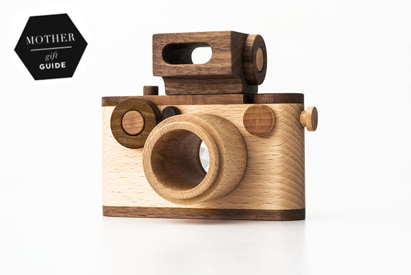 NEW 35MM Vintage Style Wooden Toy Camera