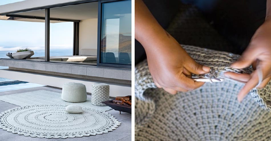 Fibre Designs: Weather-resistant outdoor rugs & furniture