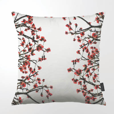 Clinton Friedman ERYTHRINA LATISSIMI THROW PILLOW