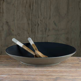 Prêt-à-Pot handmade ceramic pasta bowl available at Sarza home goods and furniture store, Rye, New York.