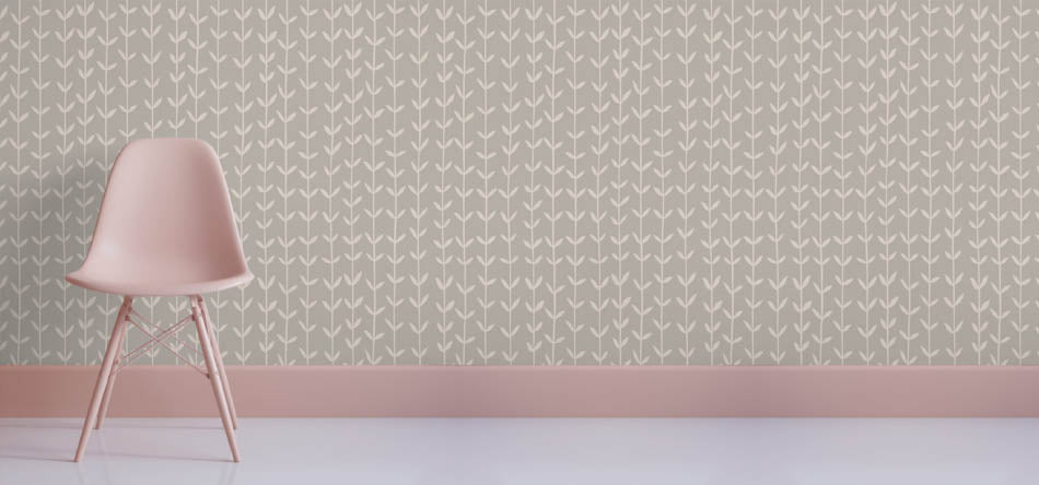 Robin Sprong wallpaper by Skinny laMinx. Robin Sprong wallpaper is available at Sarza home goods, furniture & décor store in Rye, New York.