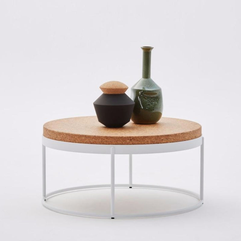 MODERN CORK SIDE TABLE 900 by Wiid Design at SARZA. cork, Furniture, Modern Cork Side Table 900, side tables, Tables, Wiid Design
