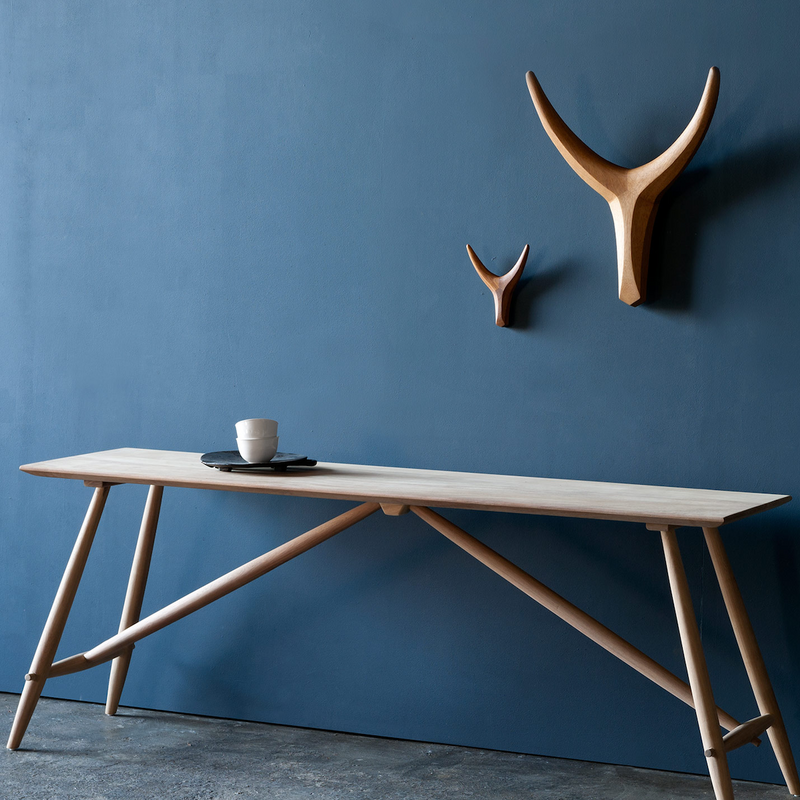 NGUNI HEAD IROKO CLEAR by Vogel Design at SARZA. Antler, Cow Head, Heads, horn, horns, iroko, Nguni heads, vogel, vogel design, wall art, wall mountings, Wall sculptures, wood, wooden