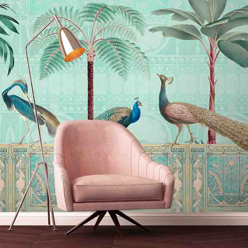 Chinoiserie Palace Of Birds – Sunset