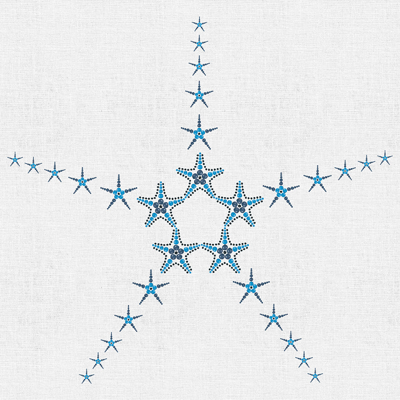 Starfish in Beads