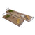 OAK PLATTER WITH IRON HANDLES by Benguela Trading at SARZA. Benguela Trading, oak, platters, serving boards, tableware, wooden