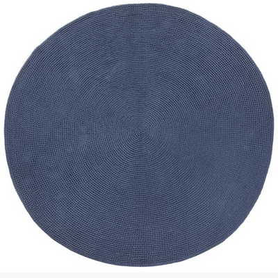 Benya Custom Made Round Rug by Fibre Design. The Verandah Collection rugs  are hard-wearing, elegant and luxurious. Suitable for indoor or outdoor and easy to maintain.