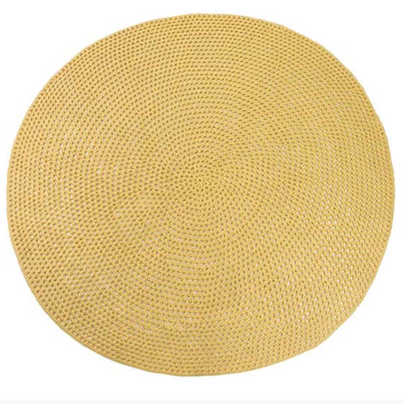 FIBRE DESIGNS USA NEW YORK BENYA CUSTOM MADE ROUND RUG