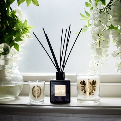 BLACK GOLD CANDLE MEDIUM by Cape Island at SARZA. candles, Cape Island, classic, decor, homeware