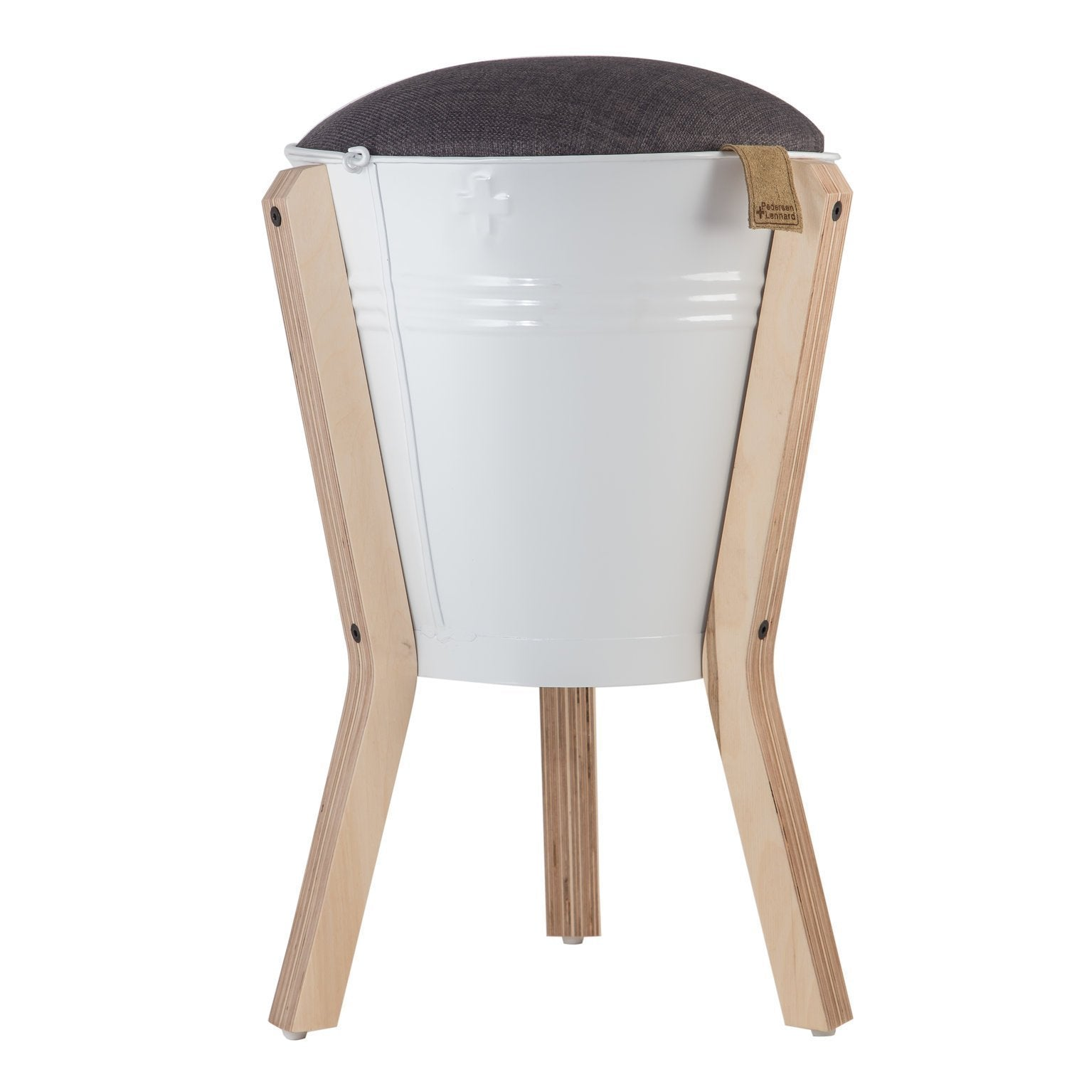 BUCKET STOOL WHITE