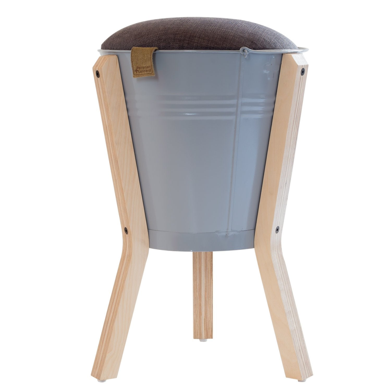 BUCKET STOOL GREY