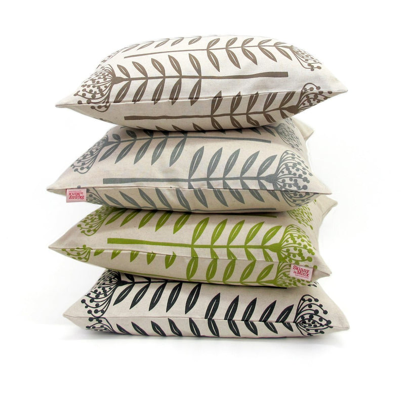 SKINNY LAMINX USA NEW YORK TALL PROTEA THROW PILLOW