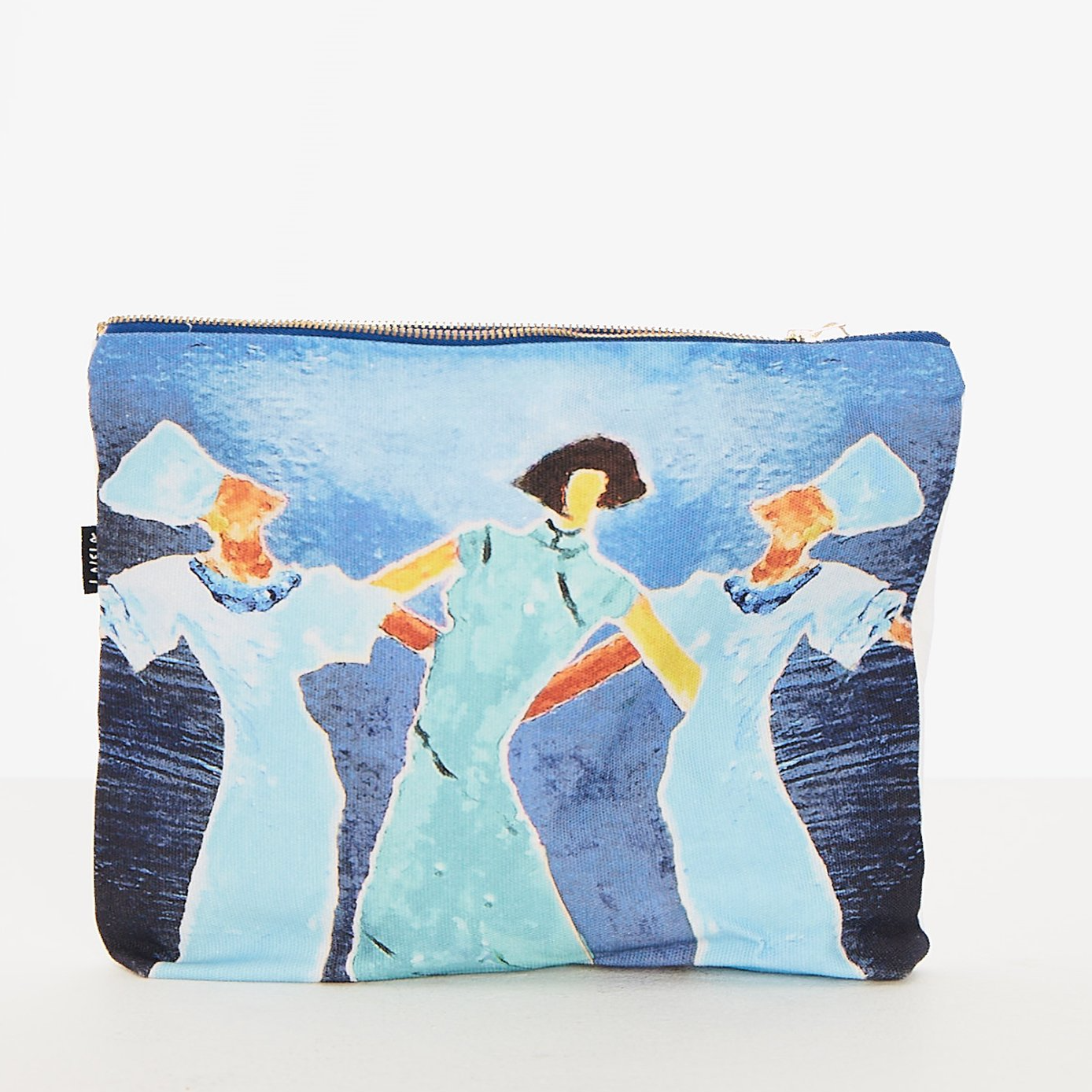 DANCING LADIES STASH BAG