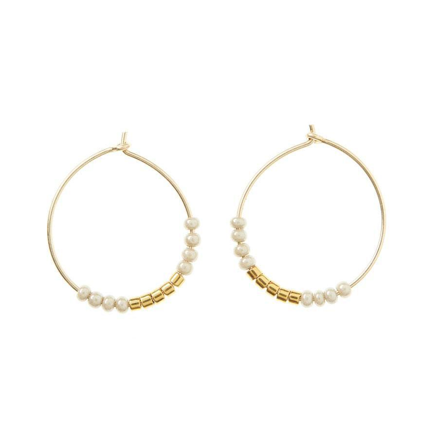 EXTRA SMALL HOOP EARRINGS by Sidai Designs at SARZA. earrings, extra small hoops, hoop earrings, jewellery, jewelry, Sidai Designs