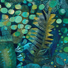 Aqua by Robin Sprong at SARZA. Abstract, Botanical, Este Macleod, Robin Sprong, Wallpaper