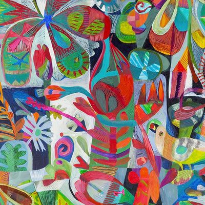 Happy Day by Robin Sprong at SARZA. Abstract, Este Macleod, Robin Sprong, Wallpaper