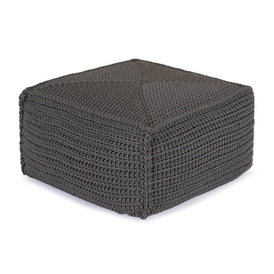 Robala Footstool by Fibre Designs. Hand-braided Robala Footstools from Verandah Collection, are hardwearing, making them ideal for demanding domestic & commercial environments.