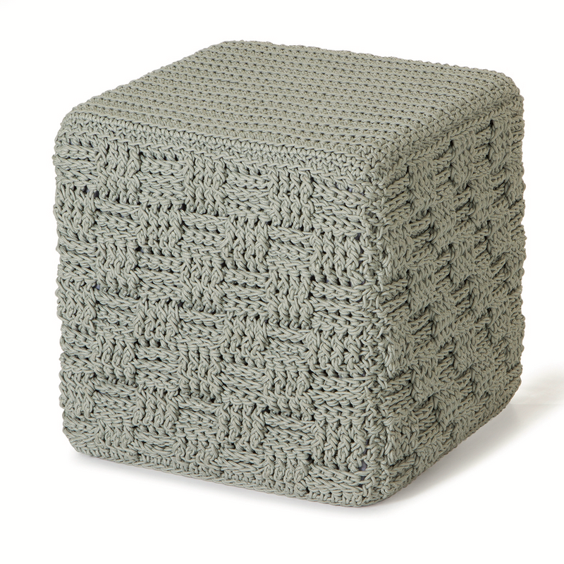 ROBALA LATTICE CUBE OTTOMAN