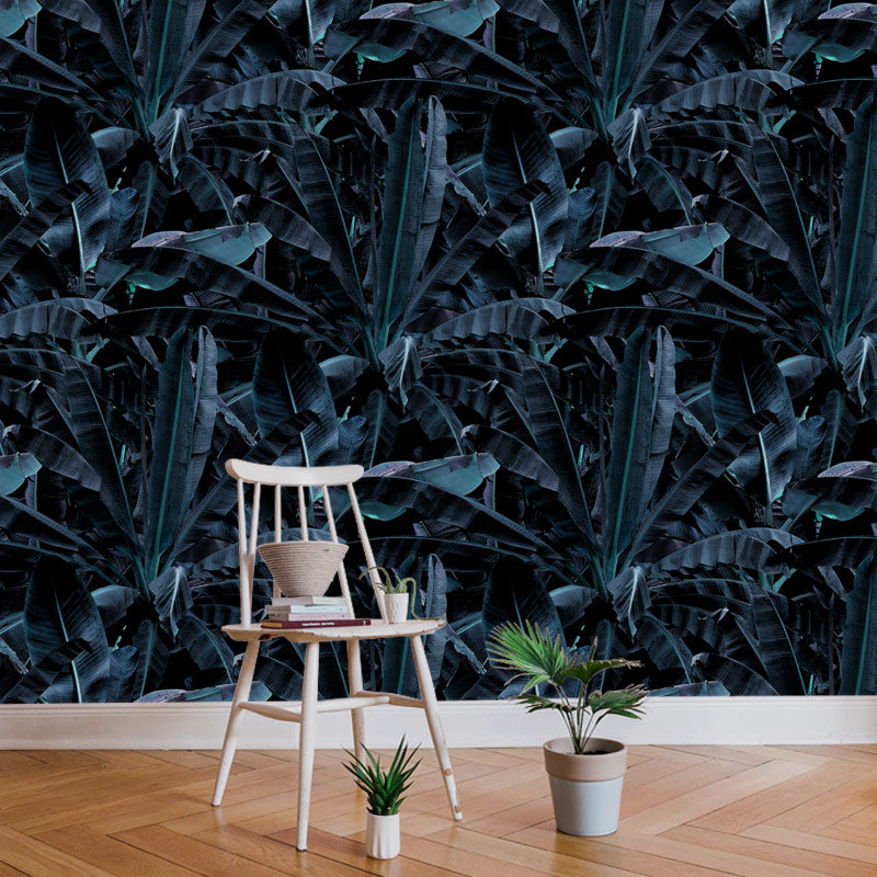 Crazy Banana Sapphire by Robin Sprong at SARZA. Botanical, Franco Moz, Robin Sprong, Tropical, Wallpaper
