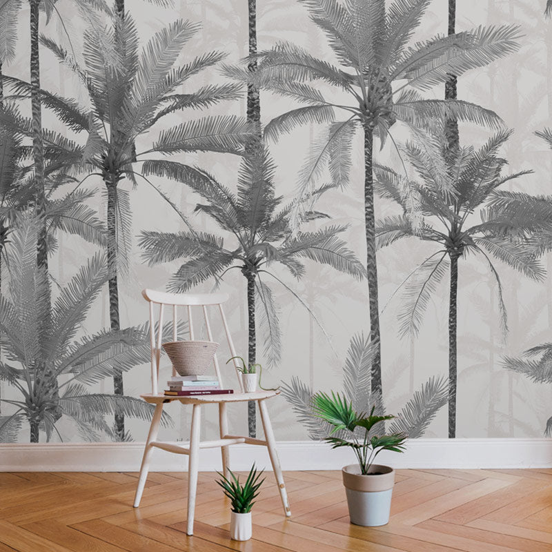 Crazy Palms Grey