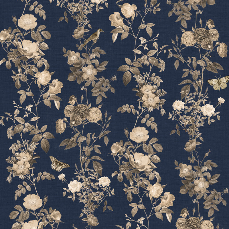 Redout Gold by Robin Sprong at SARZA. Floral, Franco Moz, Robin Sprong, Wallpaper