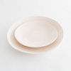 EVERY DAY RANGE PINK CERAMIC BOWL by Klomp Ceramics. Make everyday dining unique with this handmade light pink stoneware everyday collection. Glazed on top, with an unglazed rim and underneath.