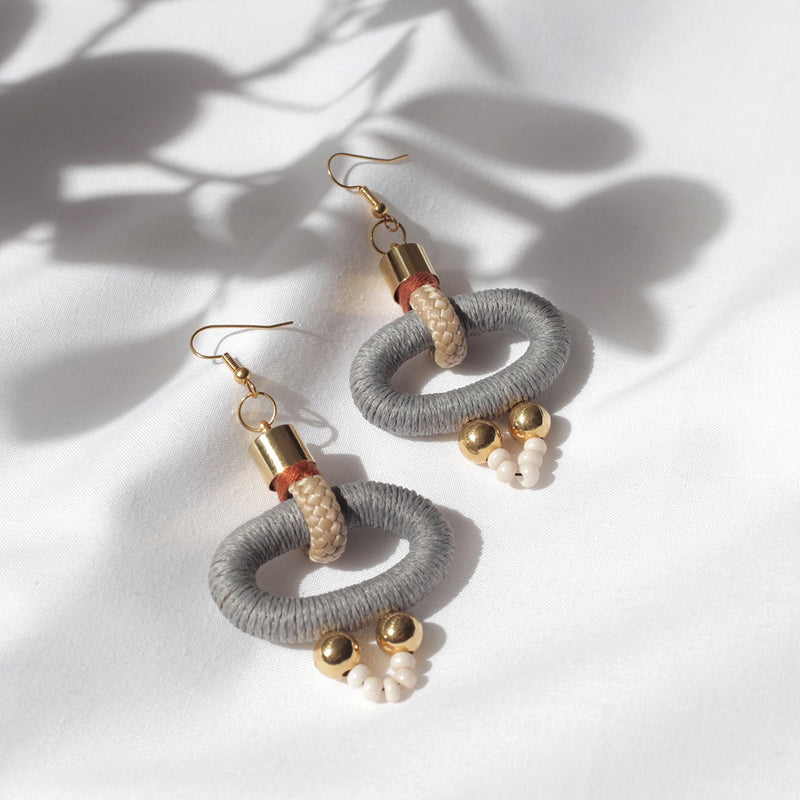 GAMMA EARRINGS by Pichulik at SARZA. earrings, Gamma, jewellery, jewelry, pichulik