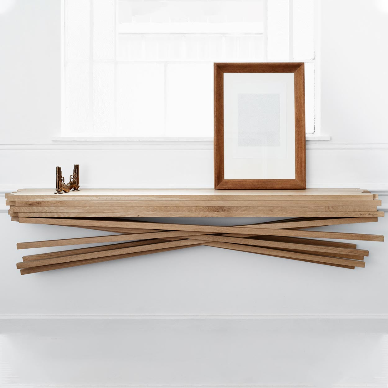 PICK UP STICKS SERVER by James Mudge at SARZA. furniture, James Mudge, pick up sticks, servers