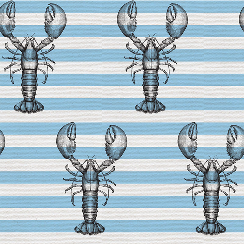 Lobster On Stripes – Sky