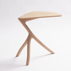 Praying Mantis Side Table by Meyer Von Wielligh. beautiful, yet simple three-legged side table, inspired by the Praying Mantis insect while the table top resembles its wings.