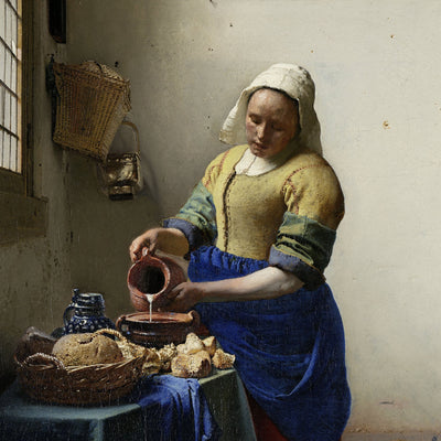 Milk Maid by Vermeer