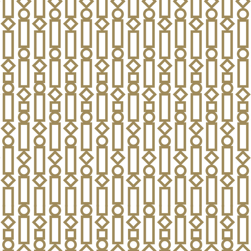 Champagne Dreams – Gold & White by Robin Sprong at SARZA. Envy & Co, geometric, Robin Sprong, Wallpaper