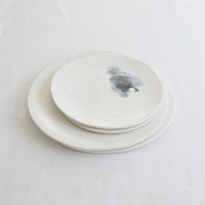 NEBULAE RANGE CERAMIC PLATE LARGE by Klomp Ceramics at SARZA. blue range, ceramics, klomp, large, NEBULAE RANGE, plate, PLATES, serving plates, tableware