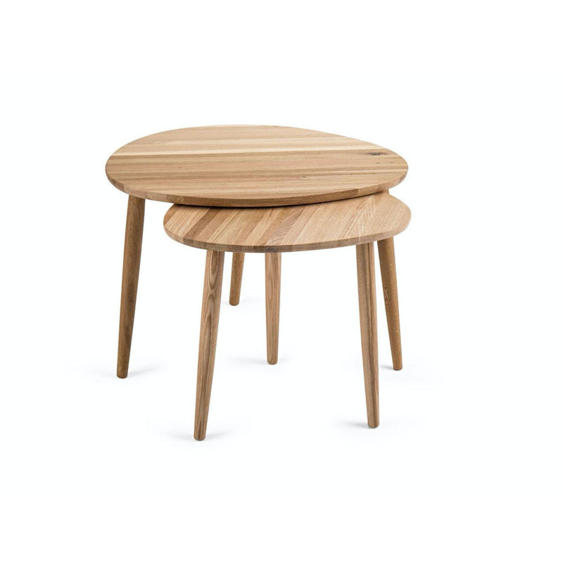 PEBBLE NESTED TABLE by Saks Corner at SARZA. Furniture, Nested Tables, Nesting Tables, Pebble Nested Tables, Pebble Tables, Saks Corner, Tables
