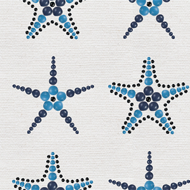 Beaded Starfish – Navy by Robin Sprong at SARZA. beach, Danela Conti, marine, Miscellaneous, nature, ocean, Robin Sprong, Wallpaper