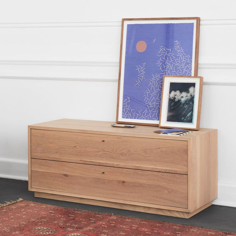 THE MINIMALIST CHEST OF DRAWERS by James Mudge at SARZA. chest of drawers, furniture, James Mudge, Minimalist Chest of Drawers