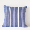 MALI THROW PILLOW - ROLLED DENIM by Mungo at SARZA. cobalt, cushion cover, cushion covers, homeware, Mali, mungo, scatter cushion, throw pillow, throw pillows