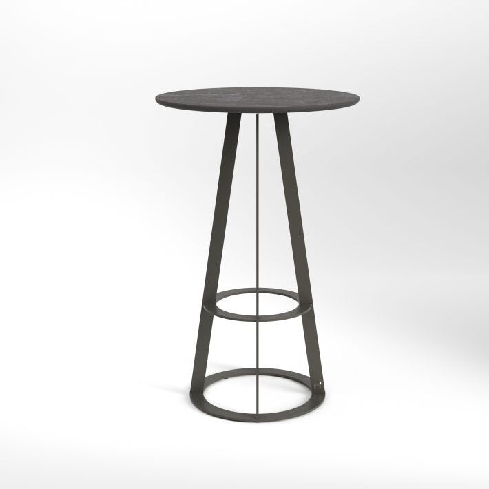 PLAT-O BAR TABLE ROUND 2 SEATER