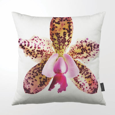 CLINTON FRIEDMAN USA NEW YORK SPECKLED  ORCHID THROW PILLOW