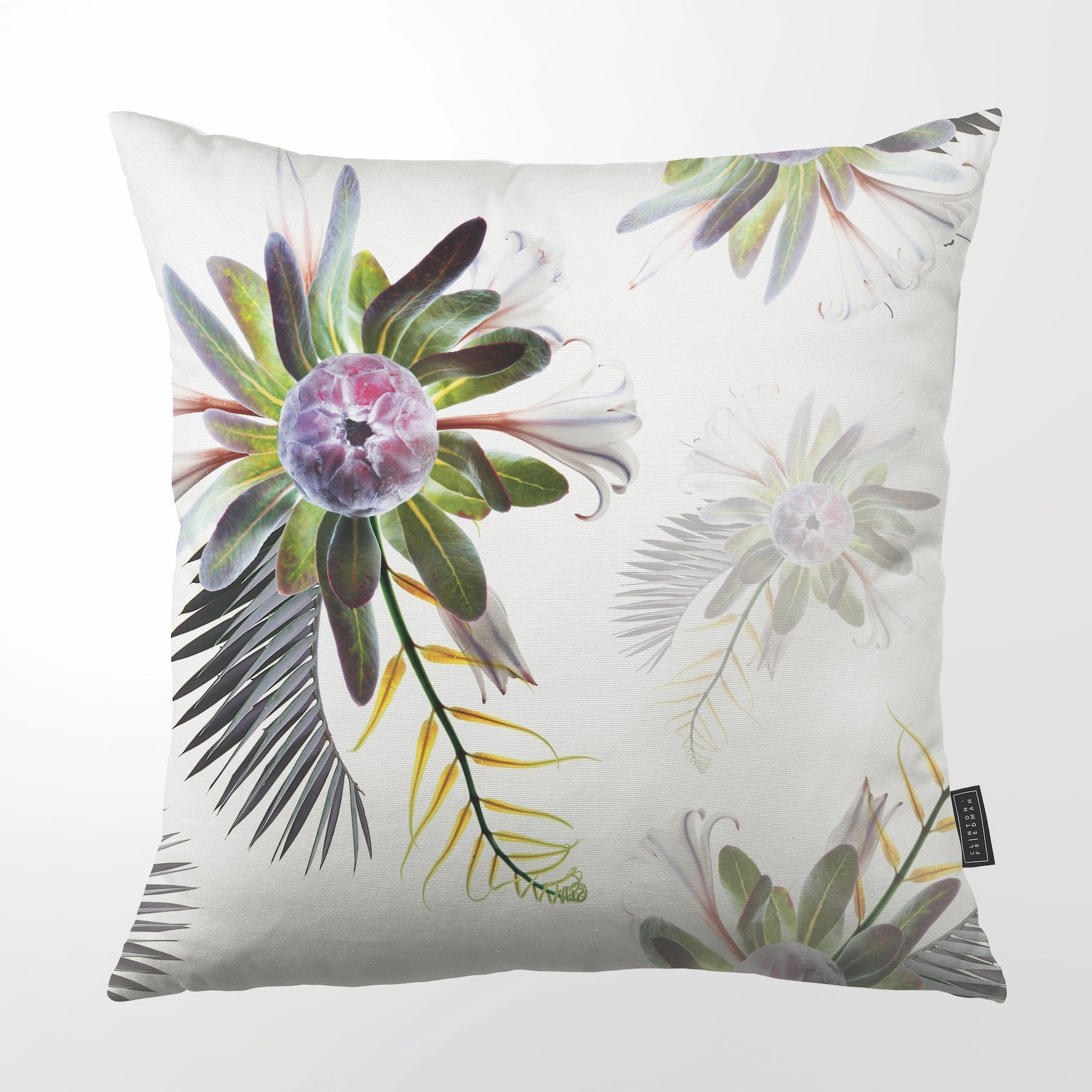 CLINTON FRIEDMAN USA NEW YORK INFLORESCENCE COLLECTION 2 THROW PILLOW