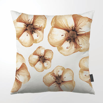 CLINTON FRIEDMAN USA NEW YORK COPPER BLOOMS THROW PILLOW