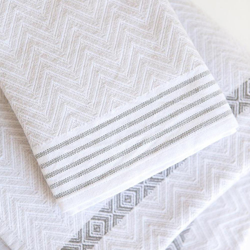 SNOW TAWULO TOWEL by Mungo at SARZA. bath sheet, cotton, Hand towel, Mungo, snow, tawulo, towels