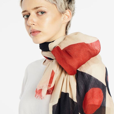 LALELA SCARF USA NEW YORK TULIP SUMMER SCARF