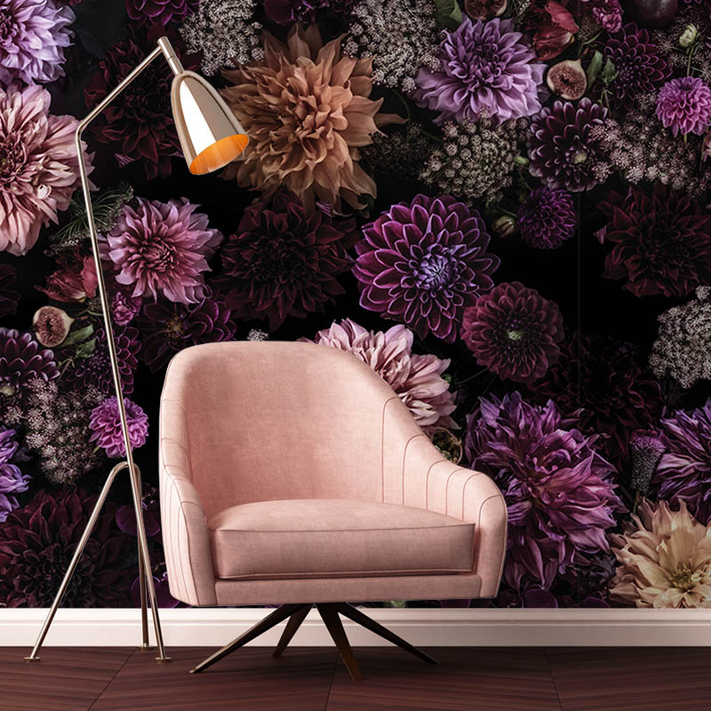 Living the Beautiful Way – Colour by Robin Sprong at SARZA. Floral, Robin Sprong, Shirene Briell, Wallpaper